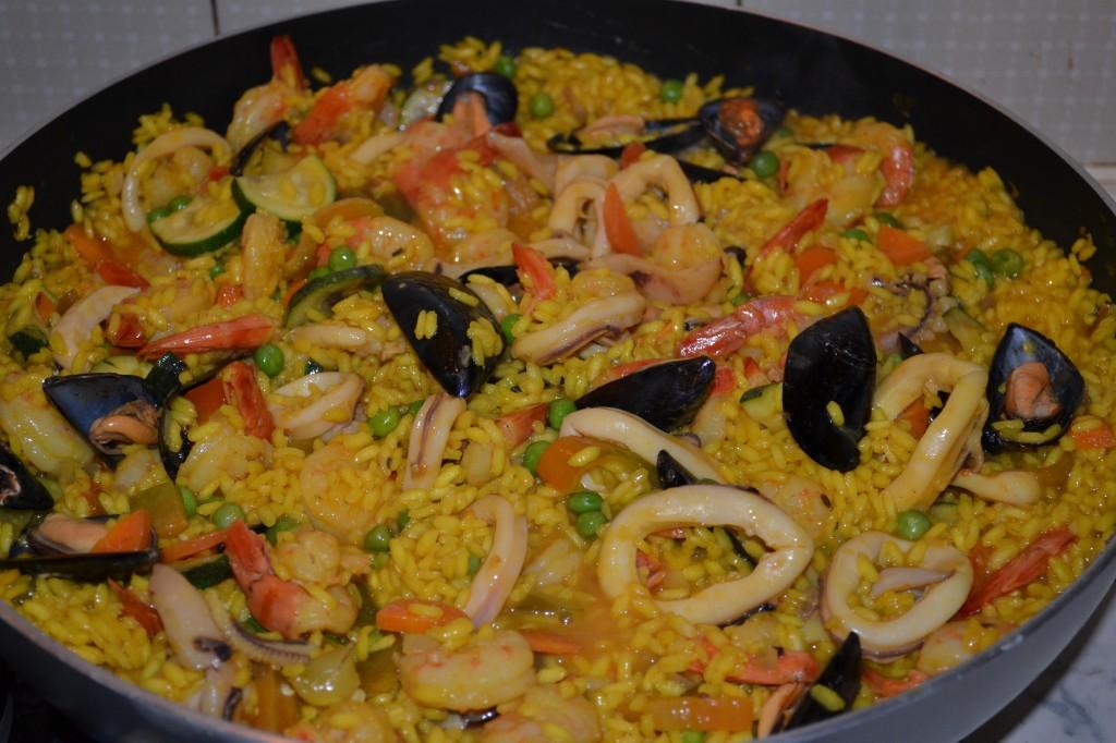 Cucinare Creare Blog Archive Paella Catalana Di Pesce