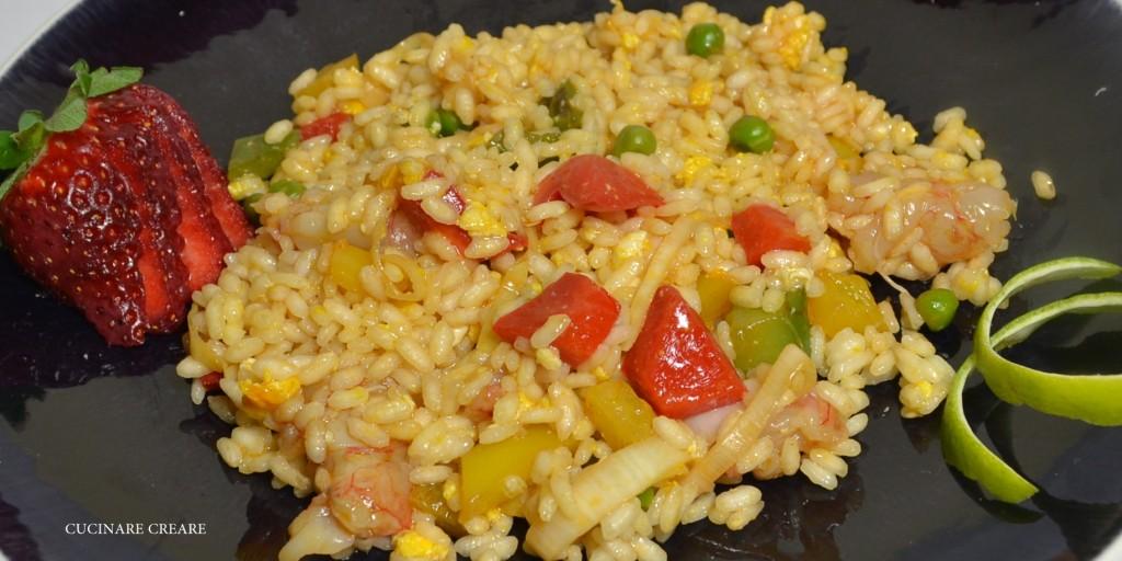 Cucinare creare blog archive riso saltato con gamberi for Cuocere v cucinare