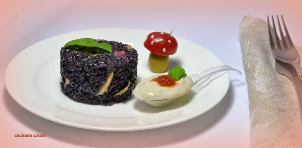 Cucinare creare for Cucinare riso venere