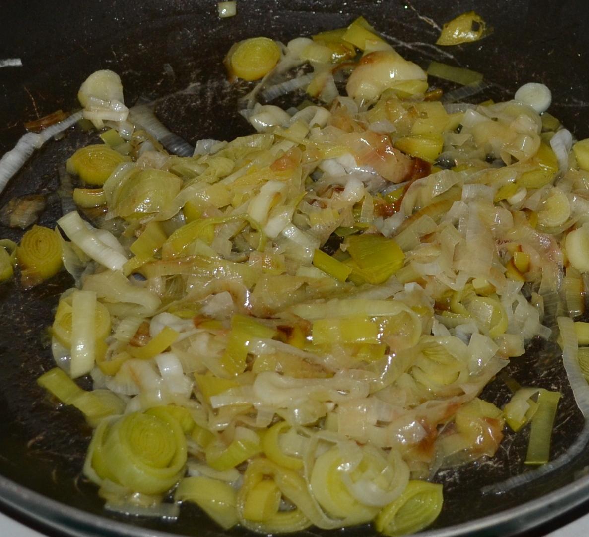 cucinare creare » blog archive » coppa al forno con crema di porri ... - Come Cucinare I Porri In Padella
